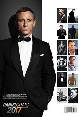 Daniel Craig 2017 Calendar