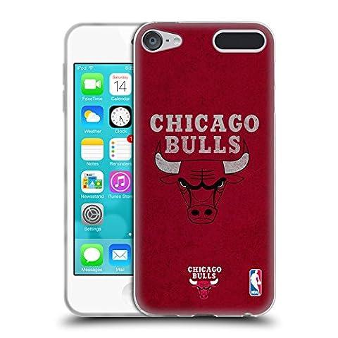 Officiel NBA Affligé Chicago Bulls Étui Coque en Gel molle