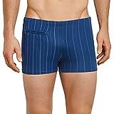 Schiesser Herren Shorts Bade-Retro, Blau (Indigo 824), Medium (Herstellergröße: 005)
