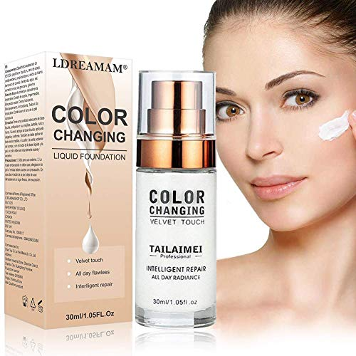 Fondation liquide,Foundation liquide,Color Changing Liquid Foundation,BB...