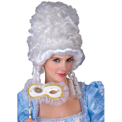 ße Perücke Karneval / Halloween Accessoire (Marie Antoinette Halloween-kostüme)