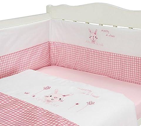 Parure de lit 3 pièces pour fille Motif