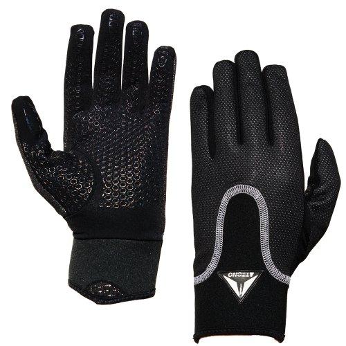 Feldspielerhandschuhe von ATTONO® Feldspieler Fussball Handschuhe - Größen: 5-11