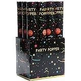 12 x XL Party Popper 40cm Konfetti Shooter 5-8 Meter Schussweite
