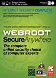 Webroot SecureAnywhere Complete 5 Device DVD(PC/Mac)