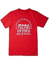 Balcony Shirts 'Milton Keynes City of Dreams' Mens T Shirt