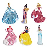 Ufficiale Disney Princess 6 formale Figurine Set