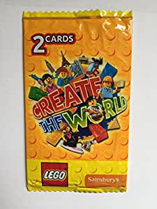 50 lego create the world cards 25 packs of 2 yellow. Black Bedroom Furniture Sets. Home Design Ideas