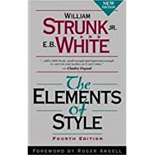 The Element of Style (annotate) (English Edition)