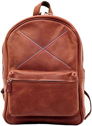 LE MARIOL B.B.R Naturel sac à dos en cuir style vintage pour école loisirs PAUL MARIUS