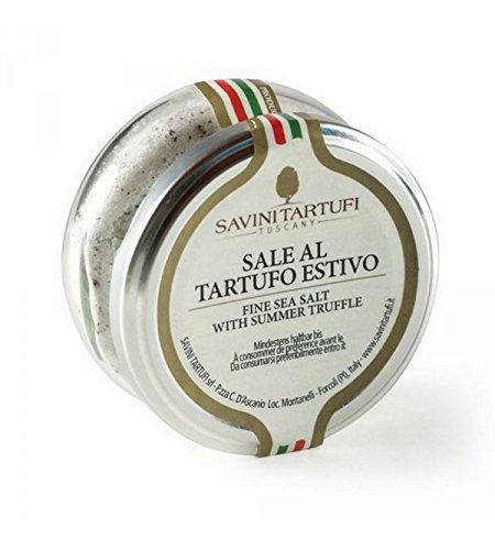Savini Tartufi - Italienisches schwarzes Trüffelsalz 100 gr