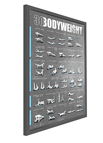 sportboXX Poster DIN A1 mit Übungen ohne Geräte, Bauchtrainer, Workout für zuhause - 3