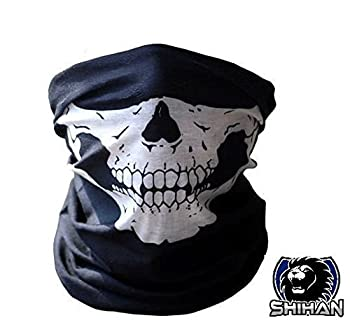 Hskull Bandana Bike Motorcycle Helmet Neck'skull' Face Mask Paintball Ski Sport Headband Face Bandana Skeleton Ski Motorcycle Biker Paintball Mask Scarf 0