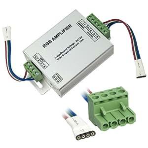 Amplificateur de signal pour RGB LED bande lumineuse 12V 20A LD40B