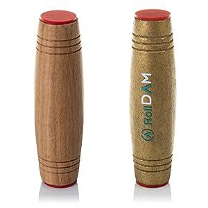 DAM-DMPM077 Pack Mokuru Roll Anti Estrés de Madera para Mejor, Color Wood/Gold (DMPM077