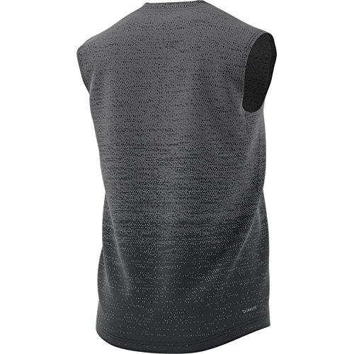 Adidas Grad Mel SL Maglietta, uomo grigio (gricua / carbon)