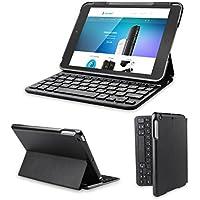 Clavier étui iPad, TeckNet Étui de protection pour iPad Mini 3/2/1, Etui avec Clavier sans fil Bluetooth en AZERTY français