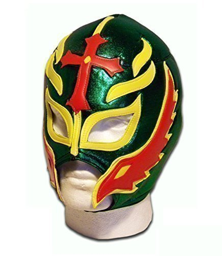 Sohn des Teufel Erwachsene Mexikanische Wrestler Wrestling Maske (Kostüme Adult Wrestling)