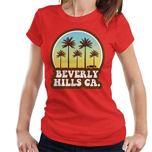 Coto7 Beverly Hills California 70s Beach Drive Women's T-Shirt