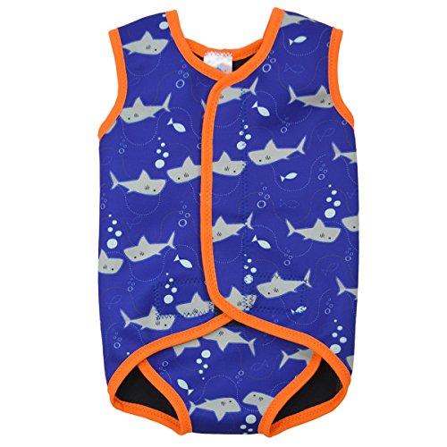 splash-about-baby-wrap-traje-de-neopreno-para-ninos-color-naranja-con-diseno-de-tiburones-0-6-meses