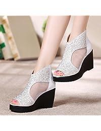 Chaussures Khskx blanches Sexy femme 4QZVHIJ1b