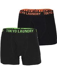 Tokyo Laundry Mens Haydon 2 Pack Designer Boxer Shorts Box Set