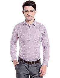 Donear NXG Mens Formal Shirt_SHIRT-1383-RED