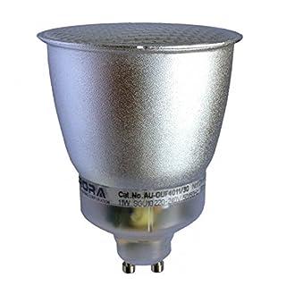 Aurora AU-GUF4011/30 240V SGU10 11W Warm White Compact Fluorescent Light Bulbs, 6 W