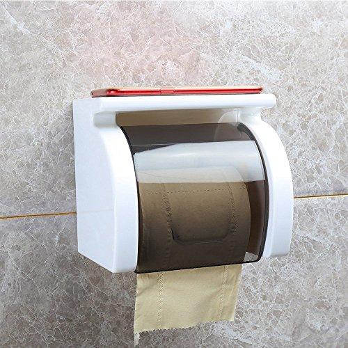 MOMO Toilettenpapierständer Kreative Papierrolle Papierrohr Toilettenpapier Box Wasserdichte Toilettenpapier Box Regale Toilettenpapierhandtuch Box
