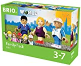 BRIO World 33951 - Village Figurenset Familie, bunt