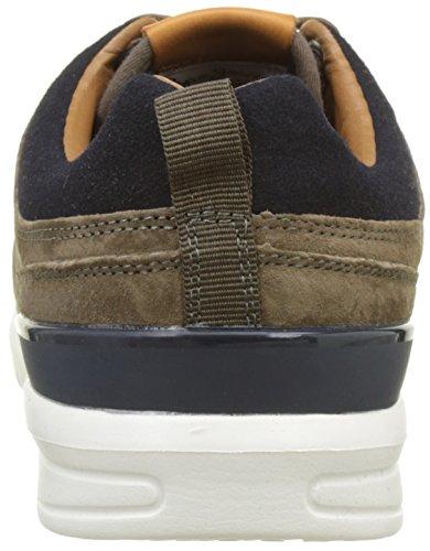 Pepe Jeans London Herren Jayden Suede Sneaker Braun (Stag)