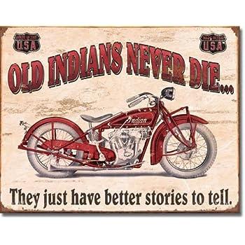 Ride Free Motorbike Blechschild Flach Neu aus USA 31x40cm mit Bset