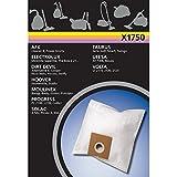 Electrolux X1750 X-Range 4 Staubbeutel Synthetik, u.a. für Alaska, Clatronic, Dirtdevil M7007, 7008, 7015