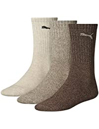 PUMA Socks Sport 3P - Calcetines para hombre, color multicolor, talla 43-46