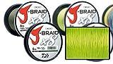 Daiwa J-Braid 8 Braid 0.06mm, 4,0kg/9,0lbs 300m dunkelgrün, rund geflochtene Angelschnur