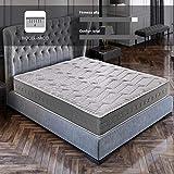 ROYAL SLEEP Colchón viscoelástico Carbono 150x190 firmeza Alta, Gama Alta, Efecto regenerador, Altura