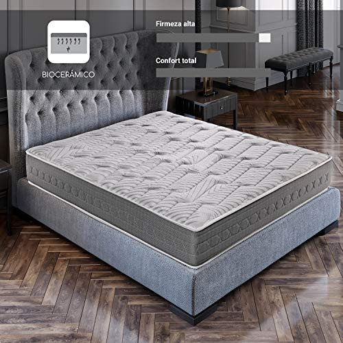 ROYAL SLEEP Colchón viscoelástico Carbono 150x190...