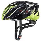 Uvex Boss Race Fahrradhelm, Gelb, S