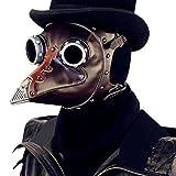 QIYUN.Z Plaga Máscara De Pico Máscara Gótica Cosplay Máscara De...