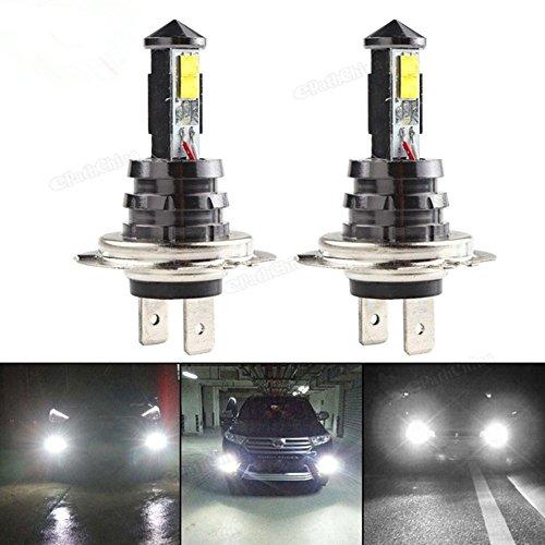 Preisvergleich Produktbild Janecrafts 2 Stück H7 20W CREE XTE 4SMD Scheinwerfer Auto Licht Lampe Birne