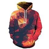 Viviboys Männer Sweatshirts 3D Hoodie Trainingsanzüge Pullover Hoody Streetwear Coat LMS091 4XL