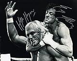 Limited Edition Rocky Hulk Hogan Rocky Signiert Foto Autogramm signiertsigniertes