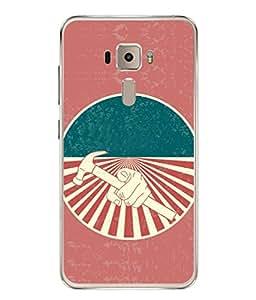 PrintVisa Designer Back Case Cover for Asus Zenfone 3 ZE552KL (5 Inches) (Love Lovely Attitude Men Man Manly)
