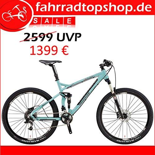 BIANCHI JAB 27.1 FS TRAIL SRAM X9/X7 2x10 RH:53 UVP: 2599 € (Bike-cannondale Damen)