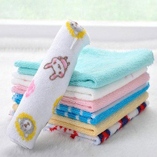 Everpert 8PCS Baby Feeding asciugamano fazzoletti fascia (colore casuale)