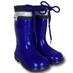 TW24 Gummistiefel - Stiefel - Schuhe - Kinder Bunt mit Farb- und Größenauswahl (20, Blau)