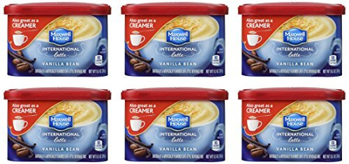 maxwell-house-international-coffee-vanilla-bean-latte-85-ounce-cans-pack-of-6-by-maxwell-house