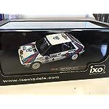 1:43 RALLY COCHE Lancia Delta HF 4WD Kankkunen RAC Rally 1987 1:43 IXO RALLYE-RAC120