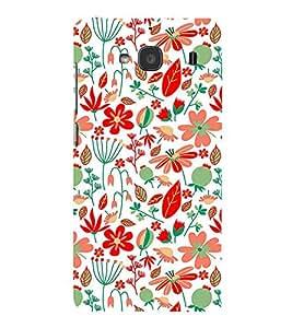 PrintVisa Designer Back Case Cover for Xiaomi Redmi 2 (art season star pattern disks)