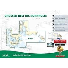 Sportbootkarten Satz 4: Großer Belt bis Bornholm (Ausgabe 2017)